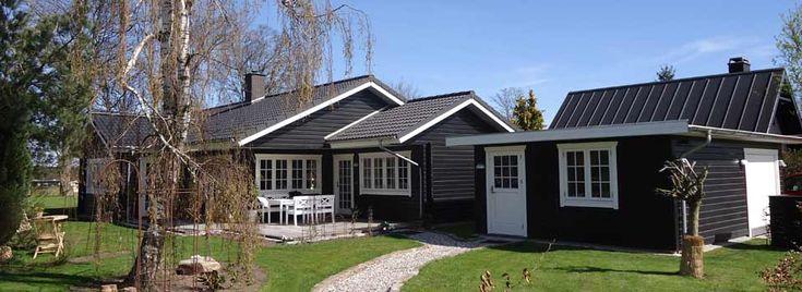 Prisen på det færdige bjælkehus - Christian Panbo Træhuse i Bjælker