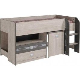 Parisot Fabric children's cabin bed