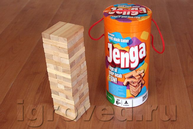 Jenga tube edition)