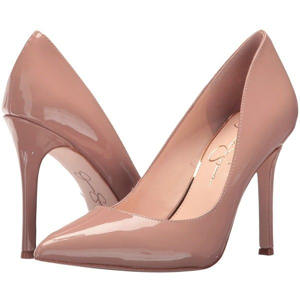 Jessica Simpson Red High Heels February 2017