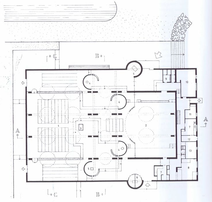 Modern Architecture Blueprints