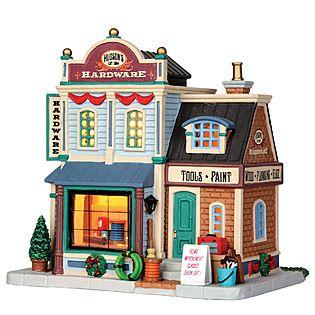 Lemax Village Collection Christmas Village Building, Hudson's Hardware $25.19