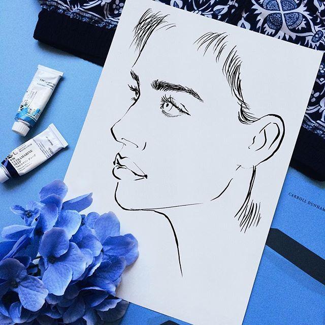 Instagram @eunjeong_yoo #Fashionillustration