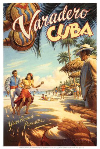 Varadero, Cuba Art ....reépinglé par Maurie Daboux ❥•*`*•❥