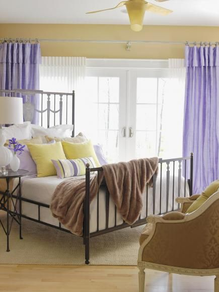 Best 25 lavender bedrooms ideas on pinterest lavender for Beautiful lilac bedrooms