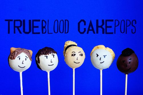 True Blood Cake Pops