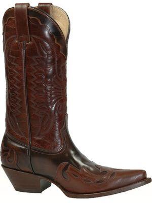 Bottes Western en cuir Vachette ref_mex22553 Mexicana, Achat/Vente de > Santiag femme - Pallascuir