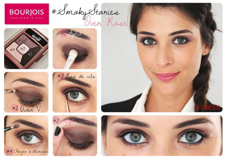 17 best images about tutos smoky stories on pinterest - Smoky eyes tuto ...