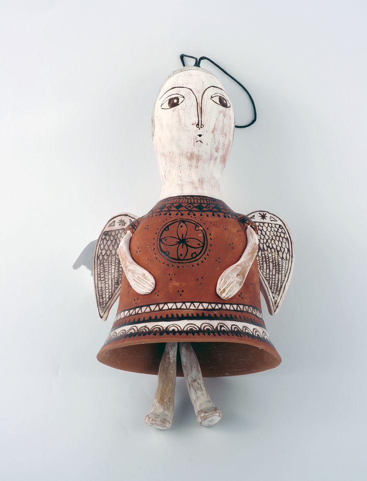 Clopoțel îngeraș din ceramică – 200 lei | EliteArtGallery - galerie de artă