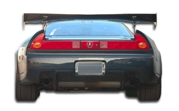 1991-2005 Acura NSX Duraflex GT300 Wide Body Rear Bumper Cover - 1 Piece (Overstock)