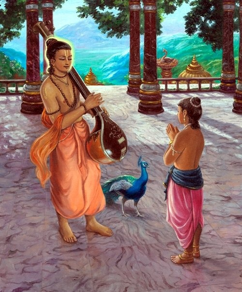Narada Instructs Gopa Kumar in Brhad Bhagavatamrta. http://www.youtube.com/watch?v=T6wga5Pq6UY