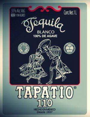 Tapatio Tequila 110 Proof Blanco killer