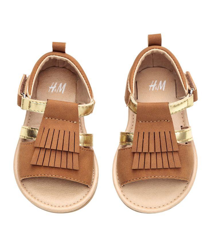 Sandals with Fringe | H&M Kids