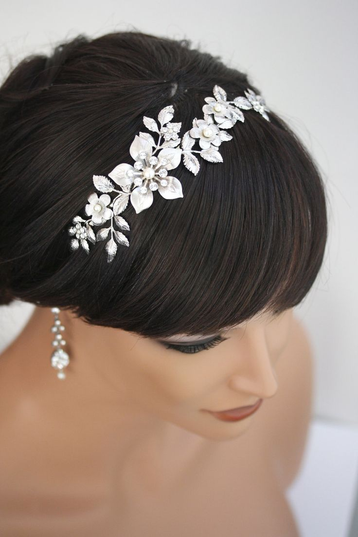 wedding hair flowers bridal headband wedding hair accessories flower headband 9687