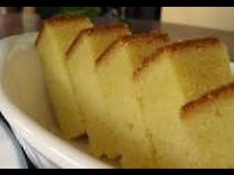 How To Make Butter Cake with out Electric beater - YouTube