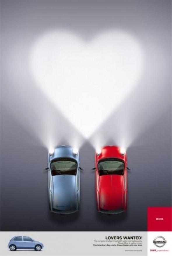 Реклама ко дню Всех Влюбленных - Креативный обзор