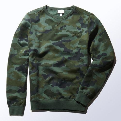 adidas camouflage sweatshirt