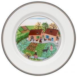Villeroy & Boch Design Naif Appetizer/Dessert Plate #5 Family Farm 6 3/4 in-20