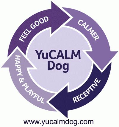 Distressed or Nervous in Dogs http://www.yucalmdog.com