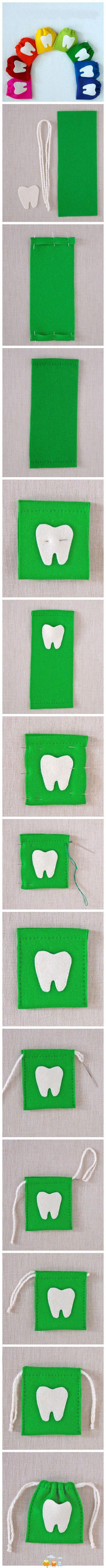 Cute idea for the tooth fairy...