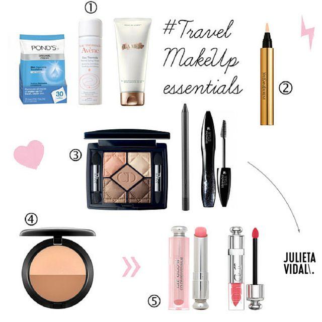 ONBOARD MakeUp Expert Julieta Vidal Makeup Travel Kit https://travelonboard.wordpress.com/2015/11/25/makeup-experts-top5-travel-tips/