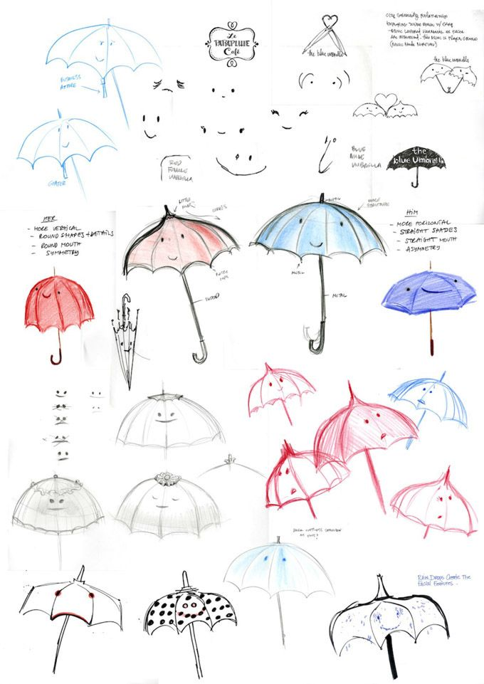 Exclusivo: Artwork e filmagens de teste a Partir da Pixar 'The Blue Umbrella' | The Playlist
