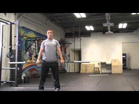 CrossFit Thrusters Instructional Video- 300 pound thruster