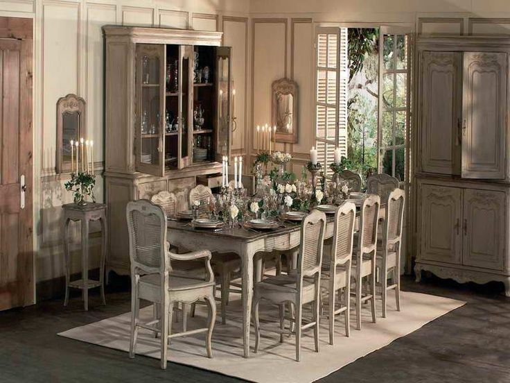 French Dining Room Decor Part - 45: These 24 Rustic Dining Rooms Are Totally Inviting And Absolutely Gorgeous!  Check Them Out If You Would Love A Beautiful Rustic Dining Room In Your  Home!