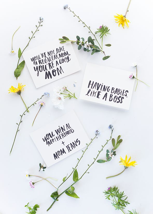 Printable Mothers Day Cards   Mustela Giveaway