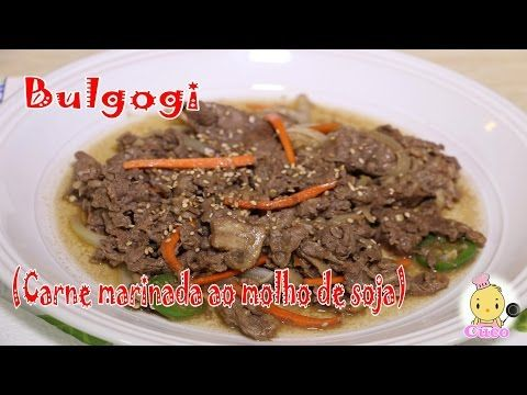 Receita de Bulgogi (Carne marinada ao molho de soja) - YouTube