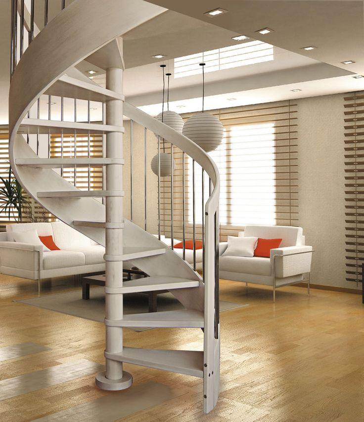 Las 25 mejores ideas sobre escaleras voladas en pinterest - Ver escaleras de caracol ...