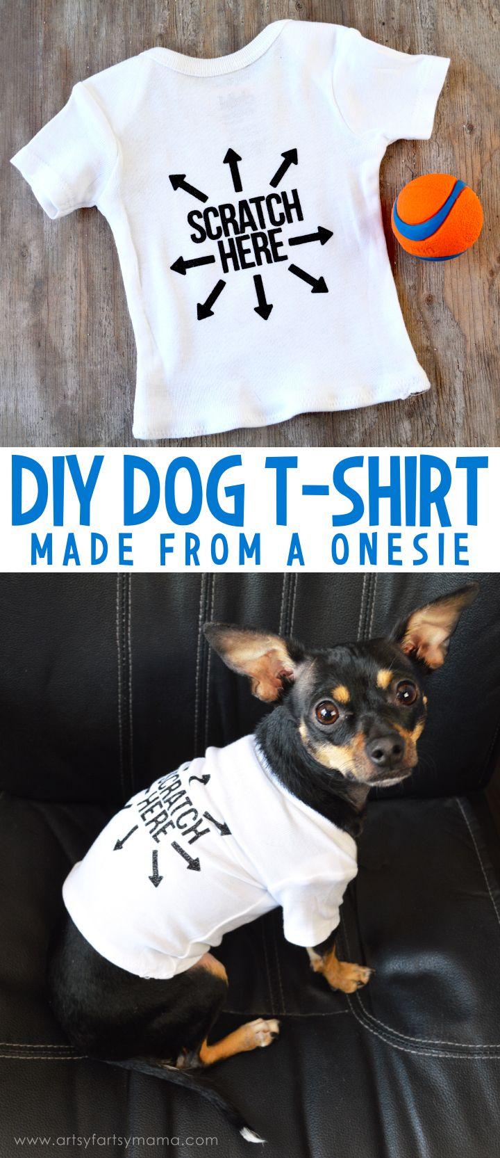 Diy dog tshirt puppy clothes dog clothes patterns