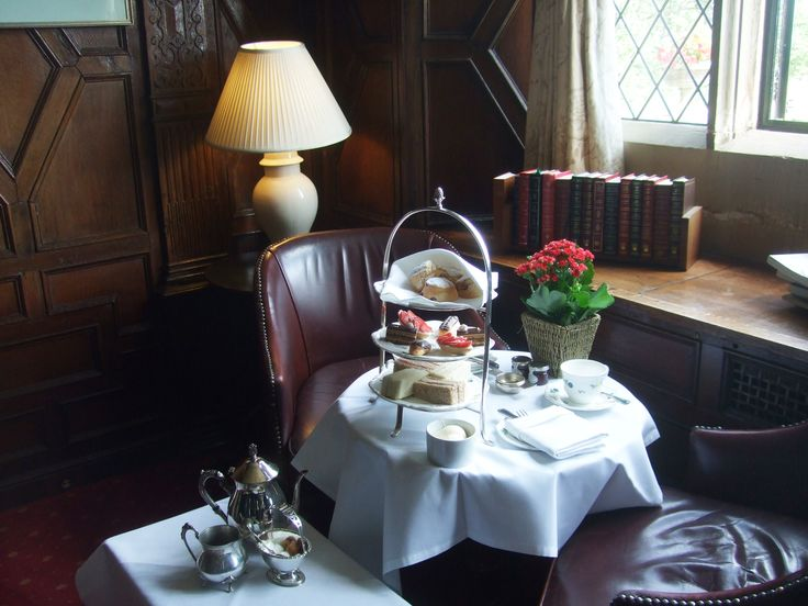 Afternoon Tea in the Lounge at Eastwell Manor