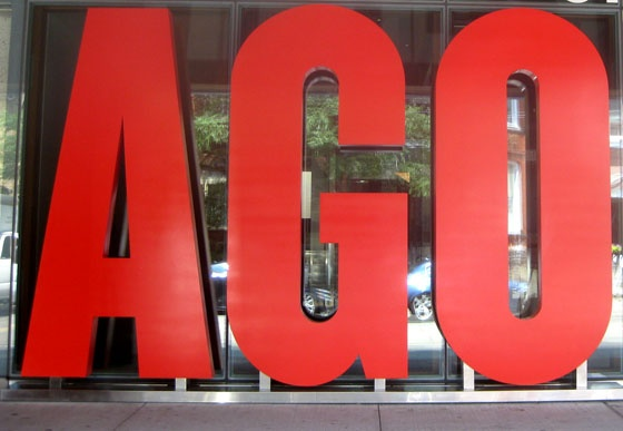 The AGO... Art Gallery of Ontario.  A MUST visit.  Great collections, amazing architecture, great cafe and always something new