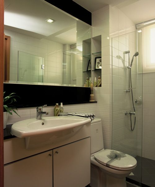 Budget design hdb interiors renovation hdb for Bathroom designs singapore