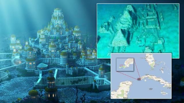 Prova final de Atlântida? Enorme cidade submersa é encontrada perto do triângulo das bermudas! ~ Sempre Questione
