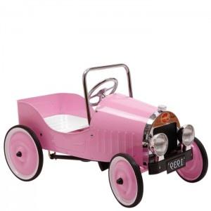 Baghera Samochód Classic na pedały /różowy/   http://www.bokado.pl/pl/p/Baghera-Samochod-Classic-na-pedaly-rozowy-/2552#