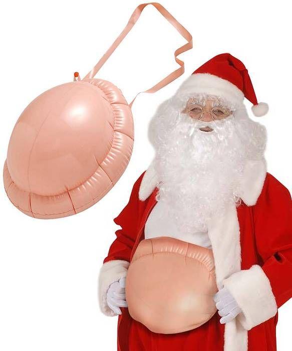 Ventre Père Noël gonflable adulte : Deguise-toi, achat de Accessoires