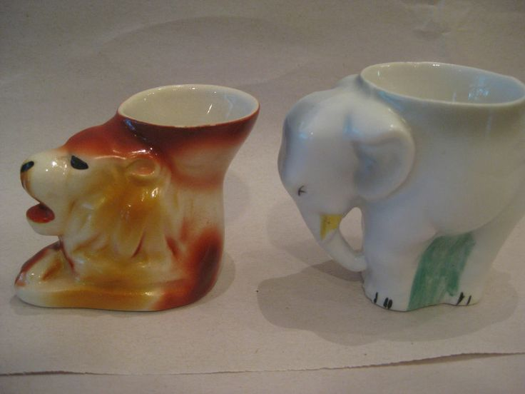 Eclectic vintage egg cup collection (12 cups)