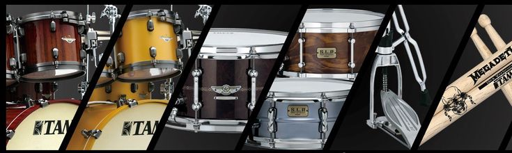 History of TAMA Drums Throughout the Years