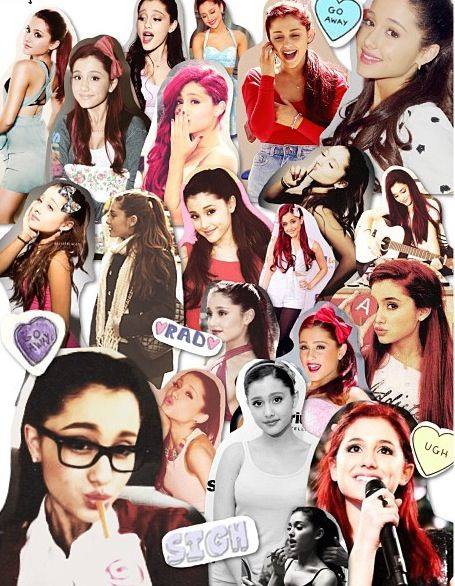 Ariana Grande Tumblr Collage 2014 97 best images ...