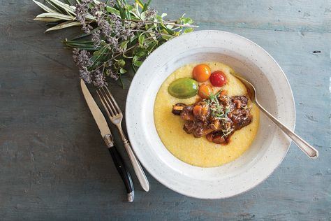 Slow-cooked lamb riblets satisfy hearty winter appetites. See the recipe below.