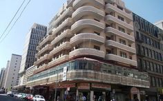A dilapidated photo of Dawson's Hotel, Johannesburg. In its day it was one of the foremost hotels in the city.