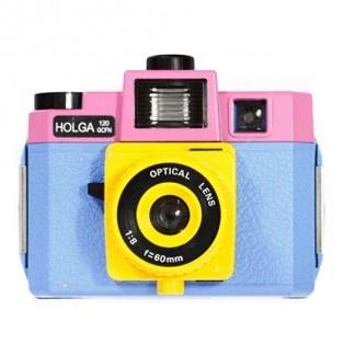 Holga Camera - Holga 120GCFN Blue/Pink