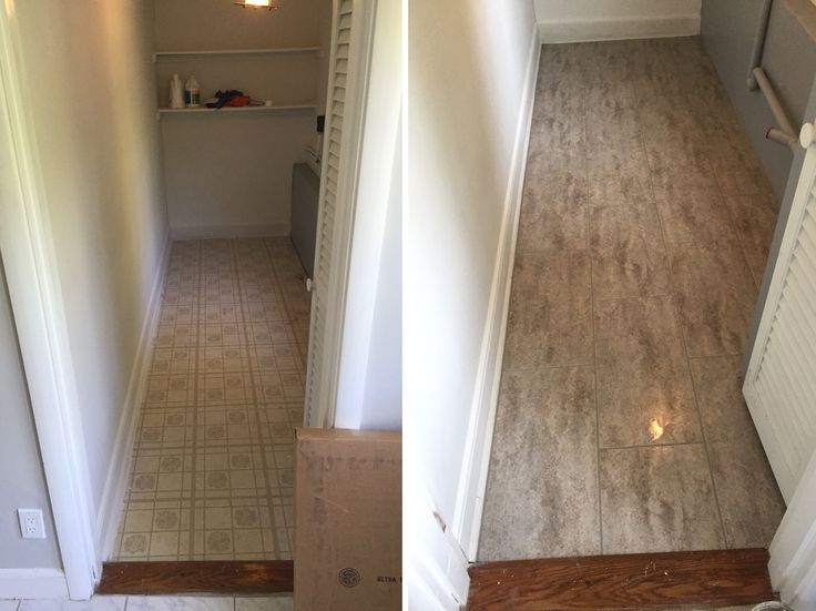 TrafficMaster Concrete Grey Vinyl Tile Stick Down And Groutable