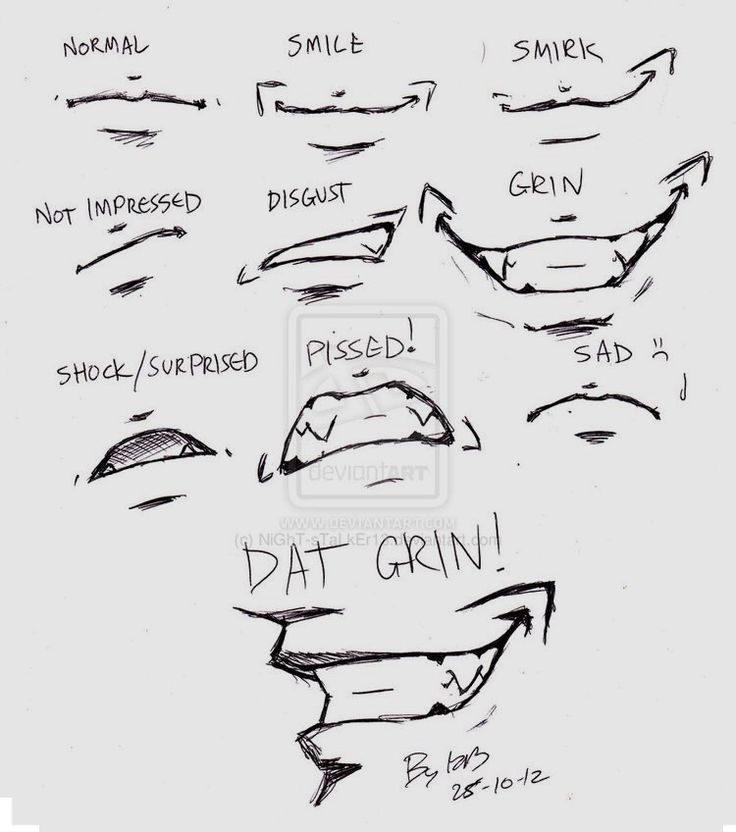 From Devonart smile references (not mine)