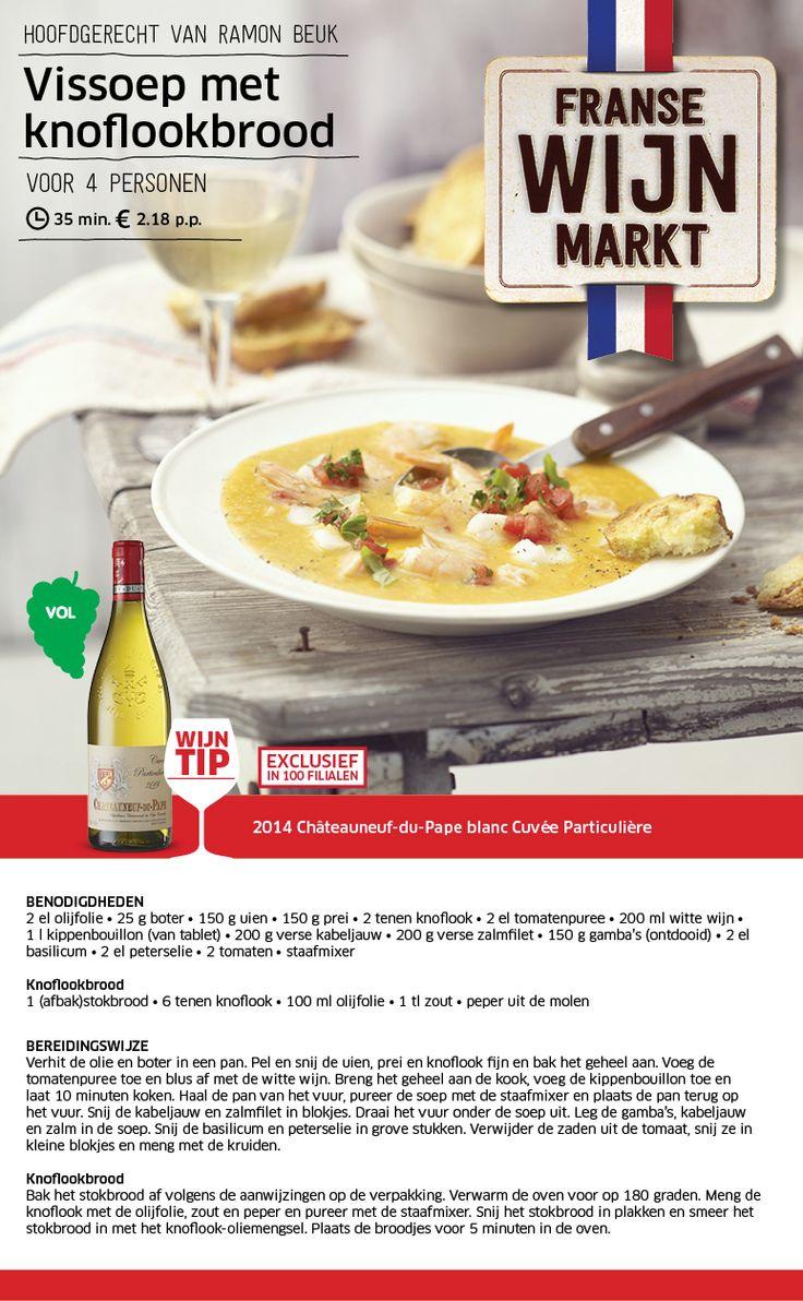 Vissoep met knoflookbrood - Lidl Nederland