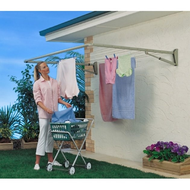 Hills FD45350 Traditional Single Folding Frame Clothesline
