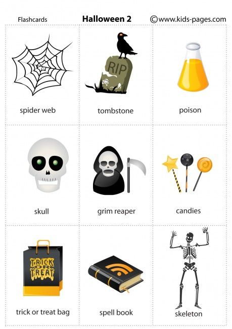 Halloween 2 flashcard