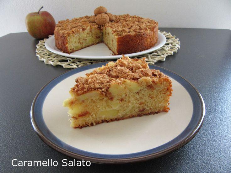 Torta di mele e amaretti, gusto e morbidezza per un'ottima merenda